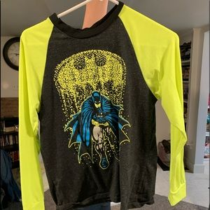 Boys 10-12 Long Sleeve Glow In The Dark Shirt